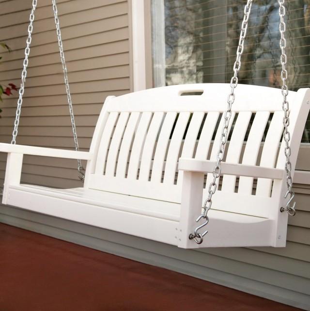 White Porch Swing Walmart