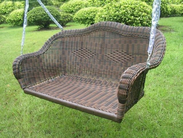 Wicker Porch Swings For Sale
