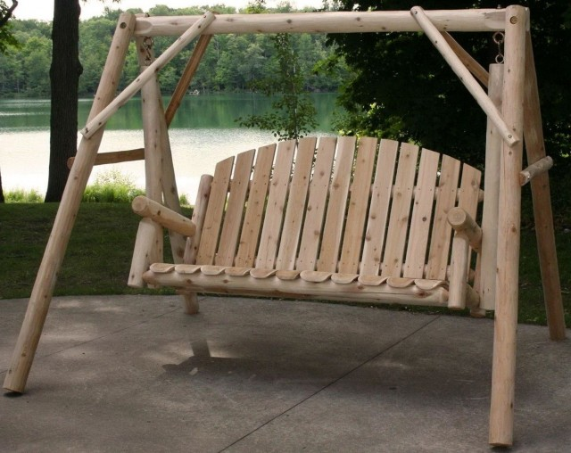 Wood Porch Swing Kit