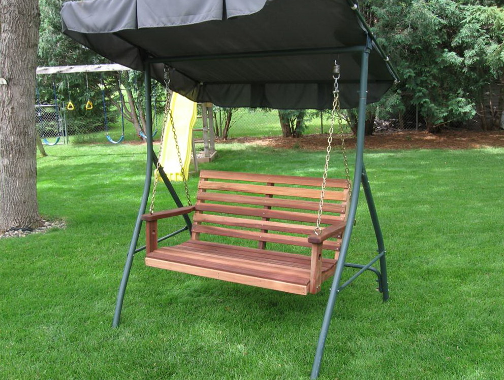 Wooden Porch Swing Frame | Home Design Ideas