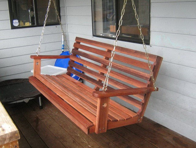 Porch swing bed plans photo gallery of the porch swing for Easy porch swing