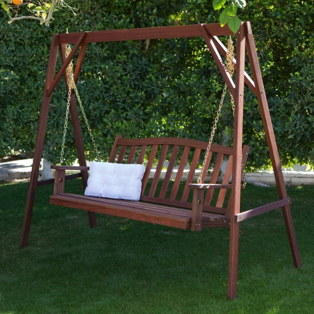 Wooden Porch Swing Sets