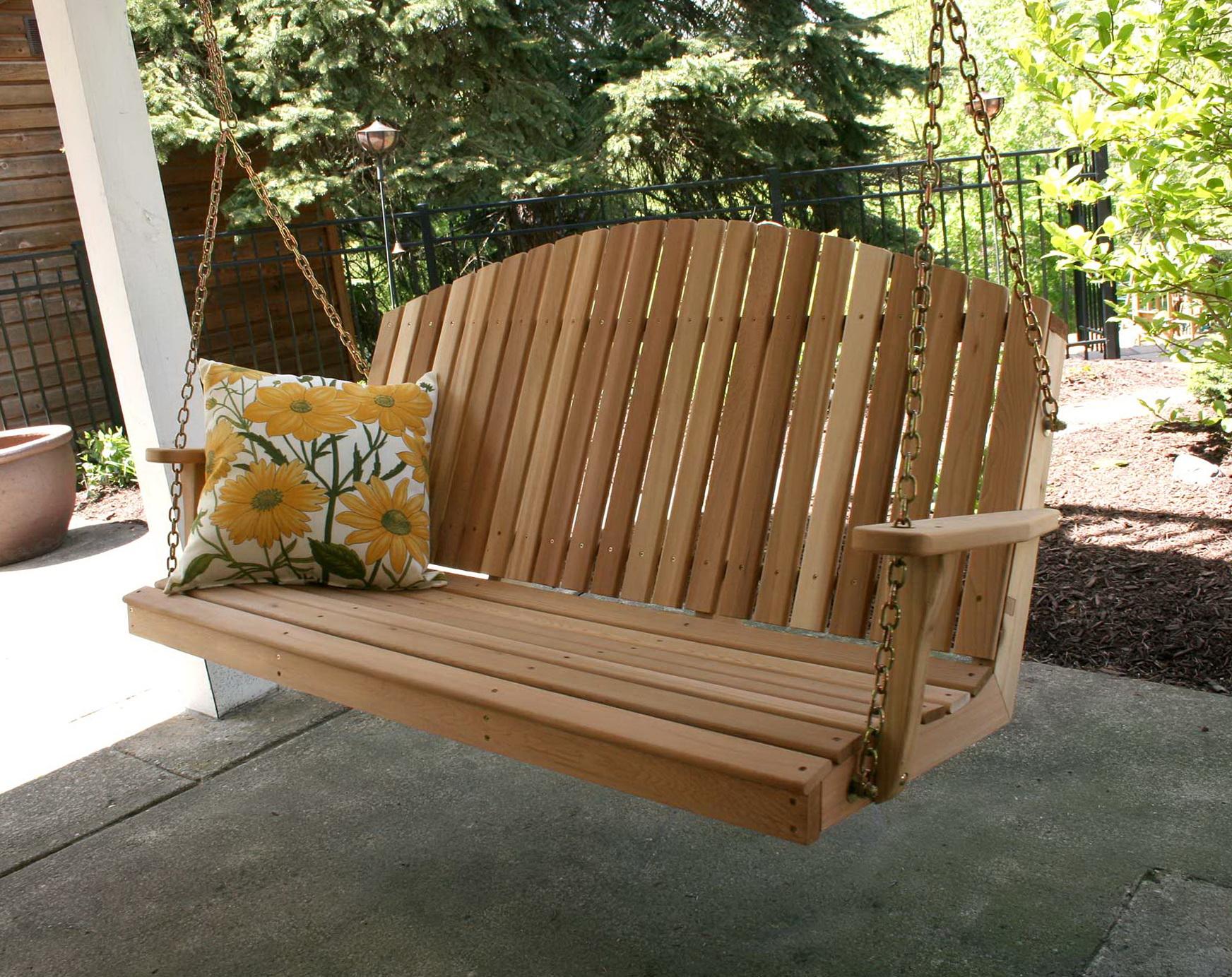 Wooden Porch Swings Cheap Home Design Ideas