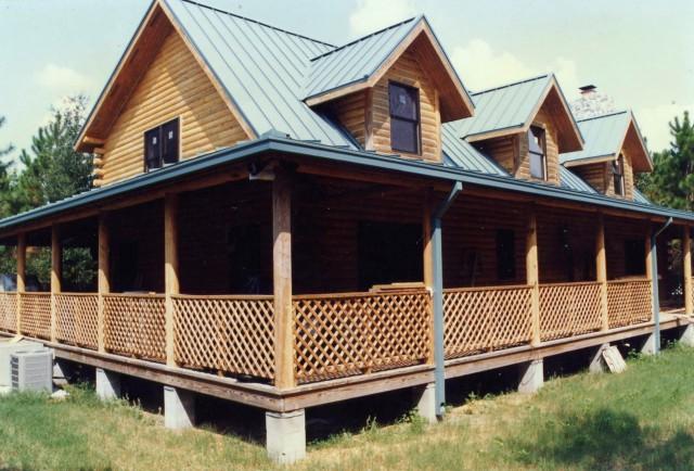 Wrap Around Porch Homes