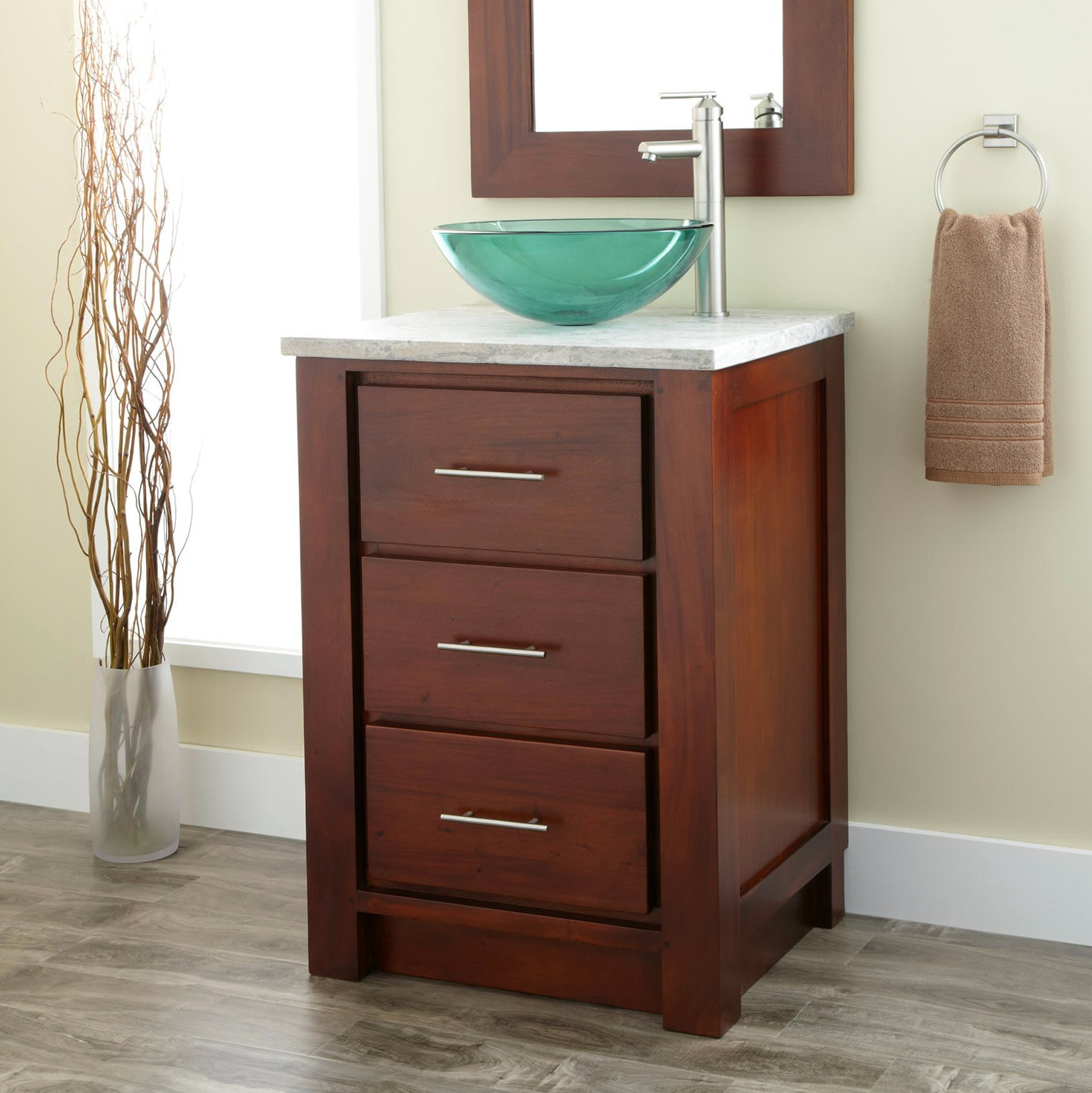 24 Inch Bathroom Vanity Vessel Sink