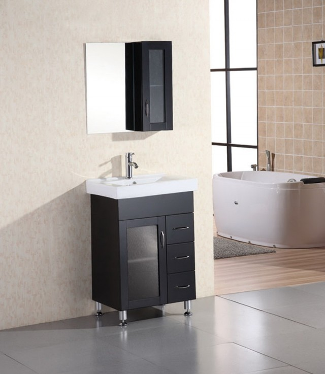 24 Inch Vanity With Drawers