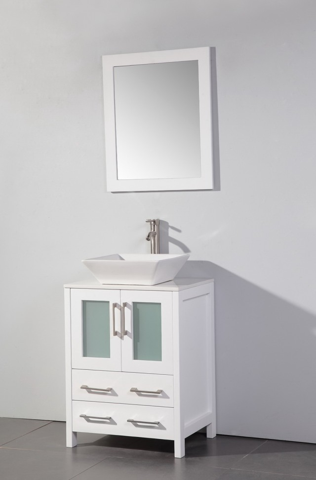 24 Inch Vanity With Sink