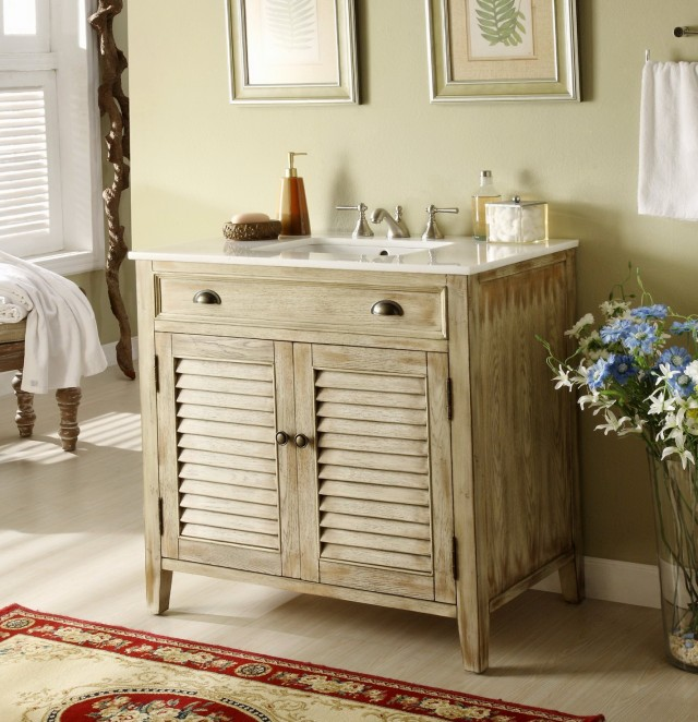 36 Inch Bathroom Vanity Rustic
