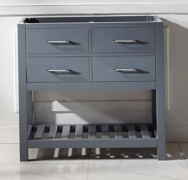36 Inch Grey Bathroom Vanity