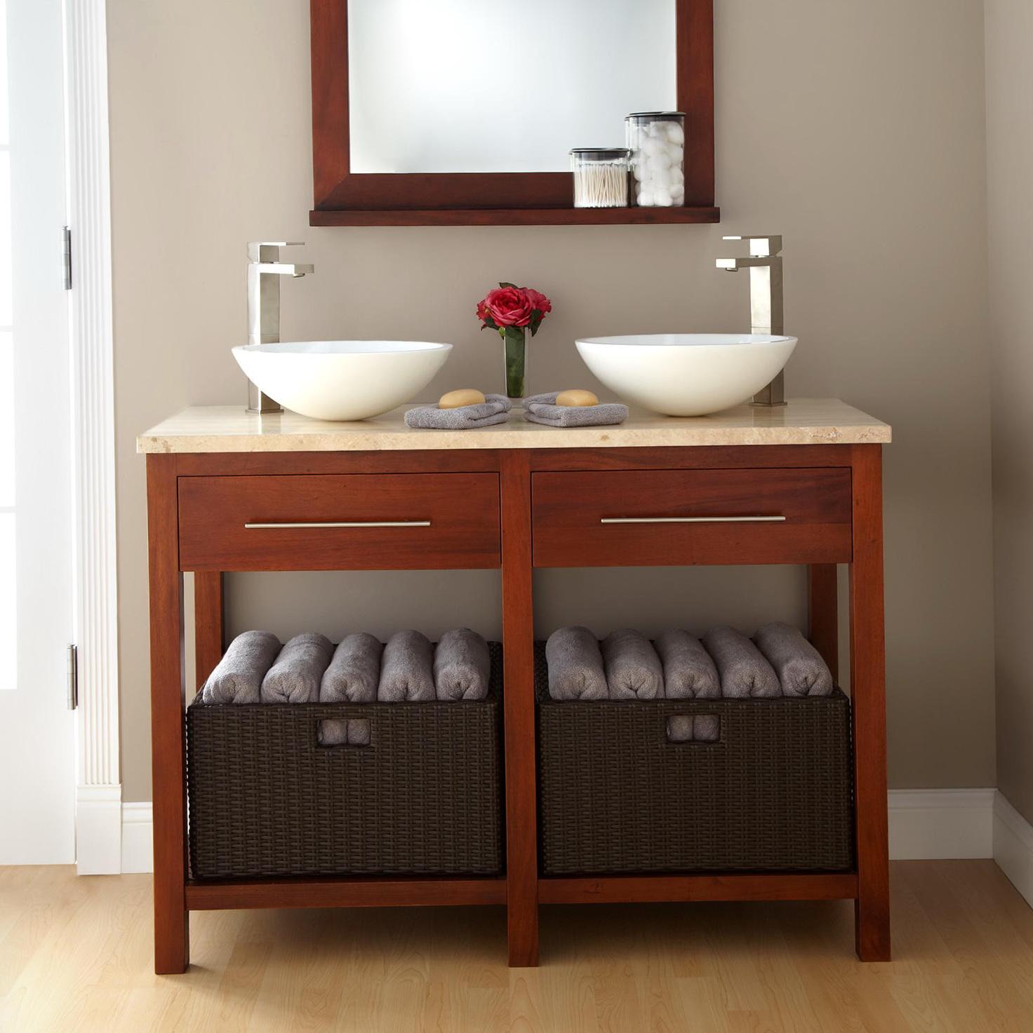 48 double sink vanity top home design ideas. Black Bedroom Furniture Sets. Home Design Ideas