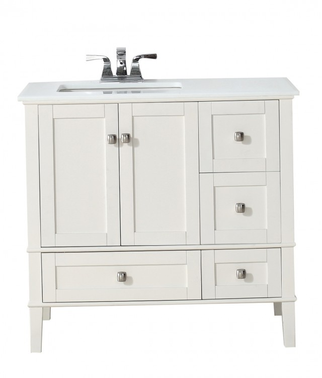 48 Inch Bathroom Vanity Left Hand Sink