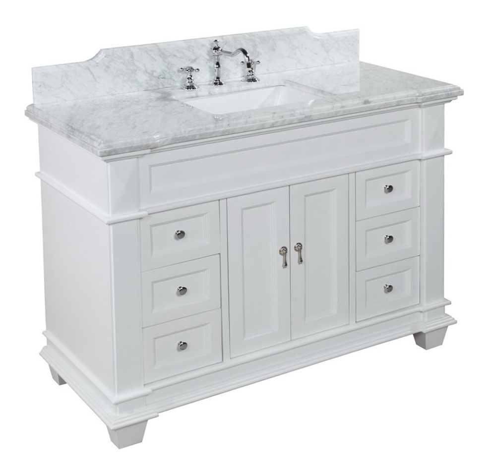 48 Inch White Bathroom Vanity Home Design Ideas