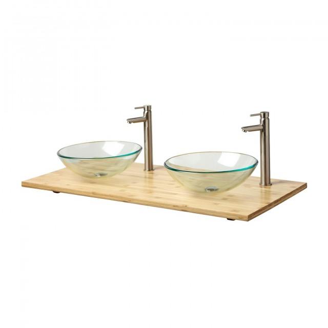 49 Double Sink Vanity Top