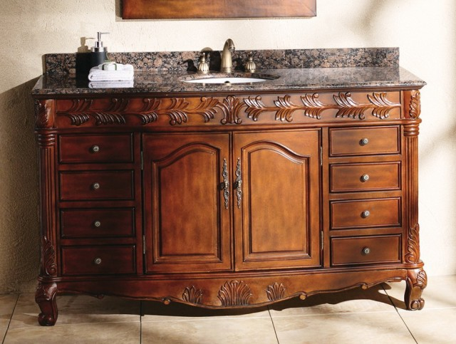60 Inch Bathroom Vanity Top