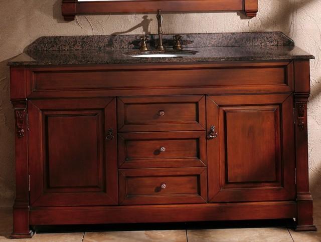 60 Inch Vanity Single Sink