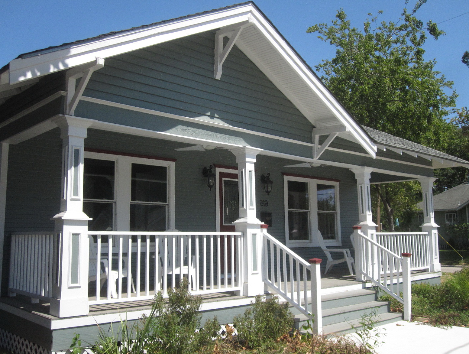 Adding A Front Porch To Bungalow