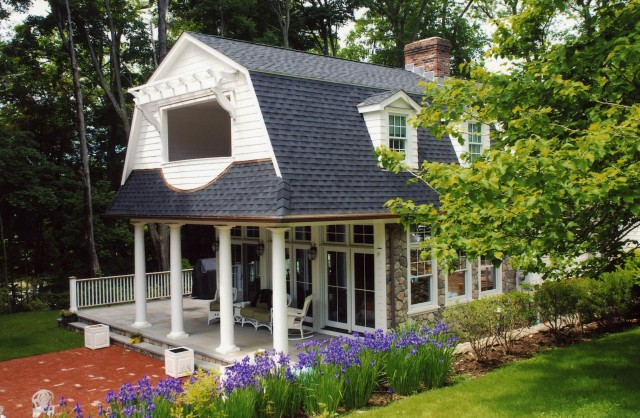 Adding A Front Porch To A Colonial