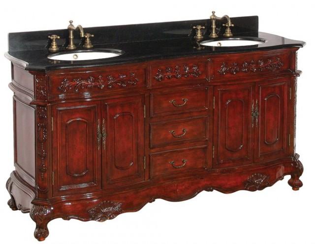 Antique Bathroom Vanity Cabinet