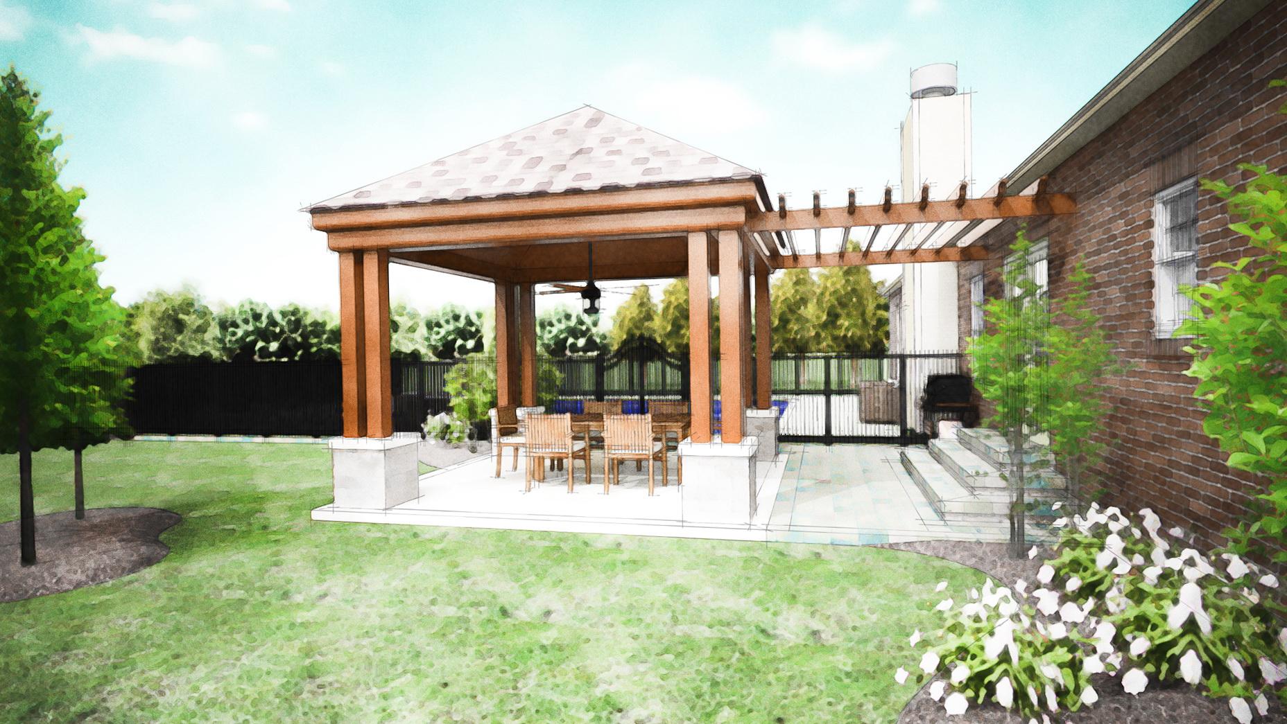 Backyard Covered Porch Ideas Home Design Ideas