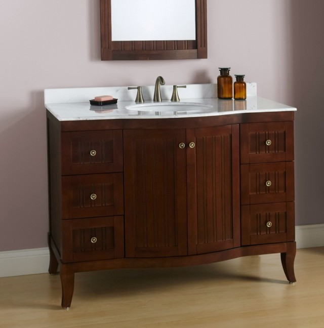 Bathroom Vanities With Tops 48