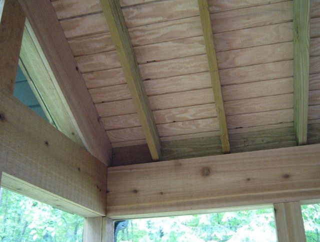 Beadboard Porch Ceiling Wood