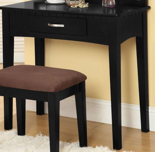 black vanity table without mirror. Black Vanity Table No Mirror White  Home Design Ideas