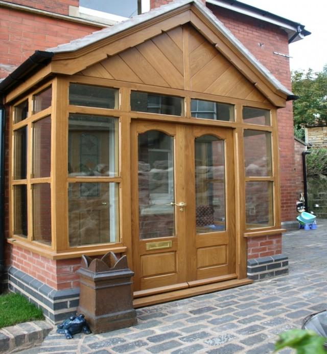 Brick Front Porch Designs Uk