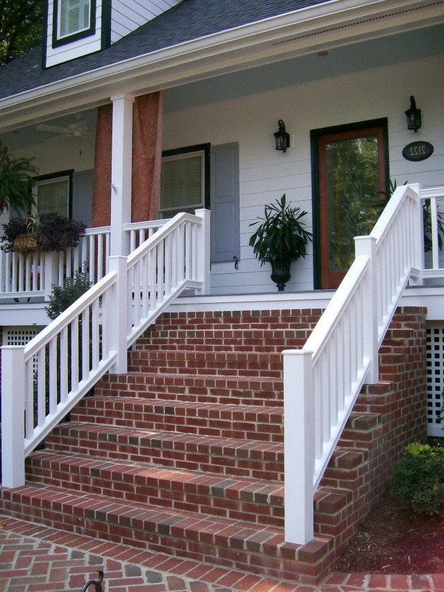 Brick Front Porch Steps