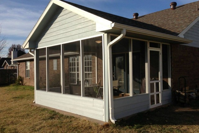 Building A Screened In Porch On A Concrete Slab