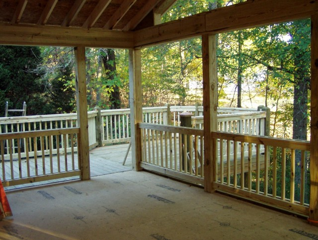 Building A Screened In Porch On A Deck