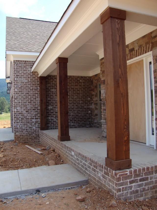 Cedar Front Porch Posts