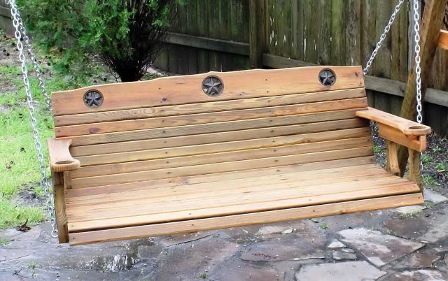 Cedar Porch Swing Plans