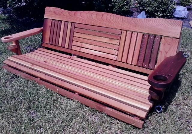 Cedar Porch Swings Texas
