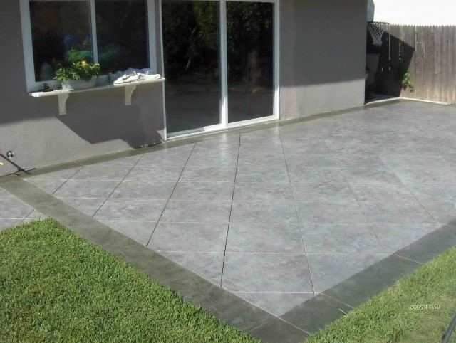 Concrete Back Porch Ideas