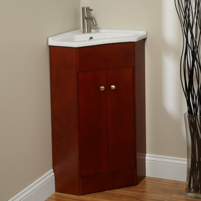 Corner Bathroom Vanity Ideas
