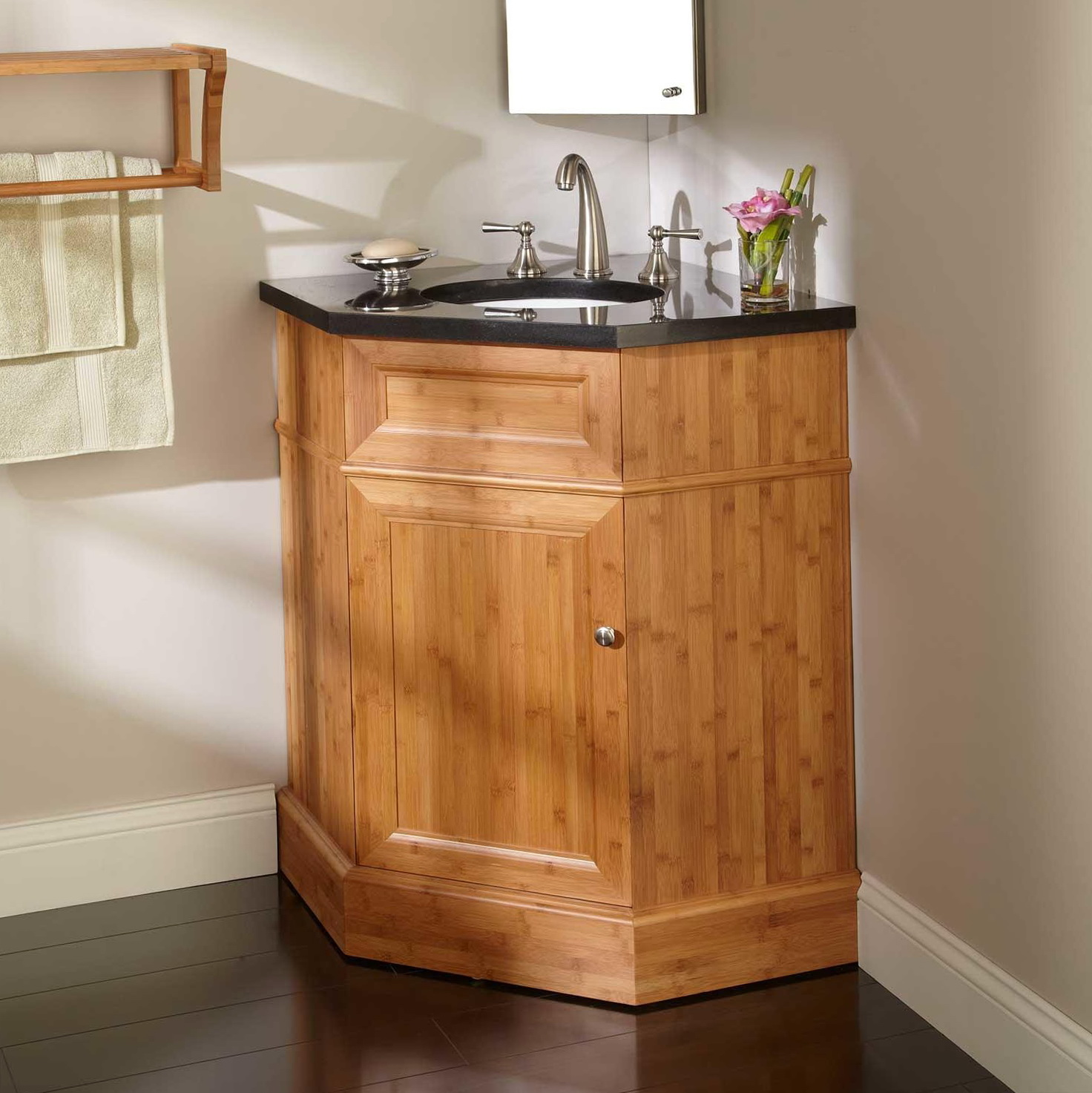 Corner Bathroom Vanity Sink Home Design Ideas