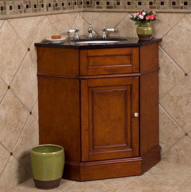 Corner Bathroom Vanity With Drawers