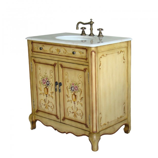 Country Style Bathroom Vanities And Sinks