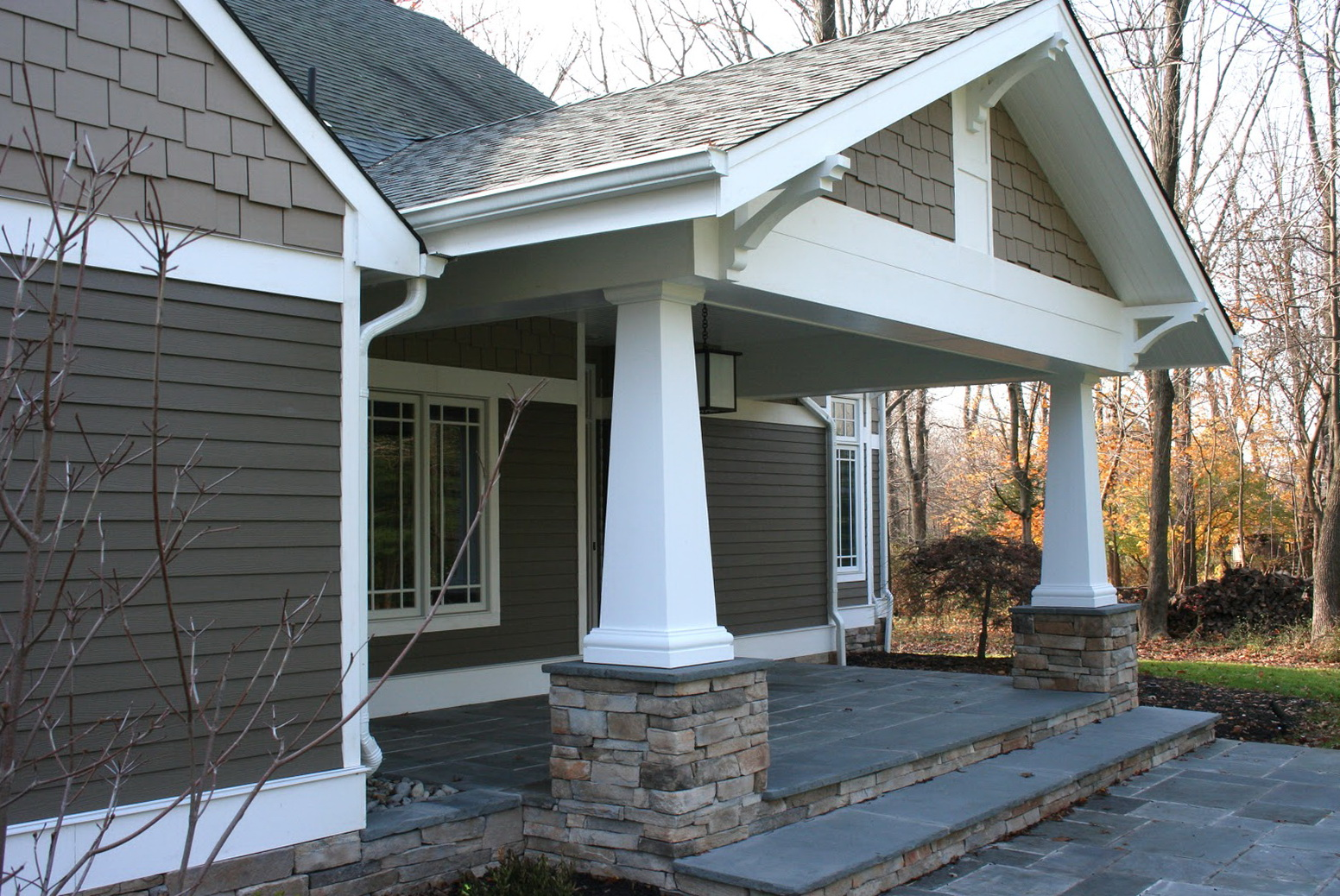 Craftsman Style Porch Columns Home Design Ideas