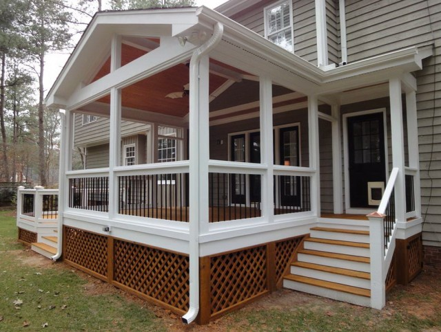 Deck And Screened Porch Designs