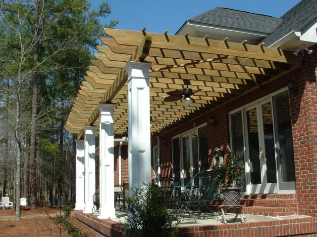 How To Build Front Porch Columns Home Design Ideas