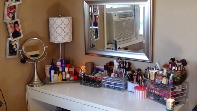 Diy Makeup Vanity Ikea