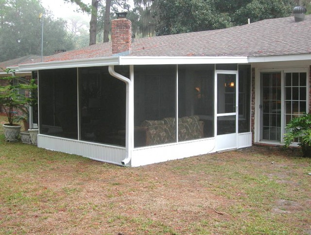 Diy Screened In Porch Cost