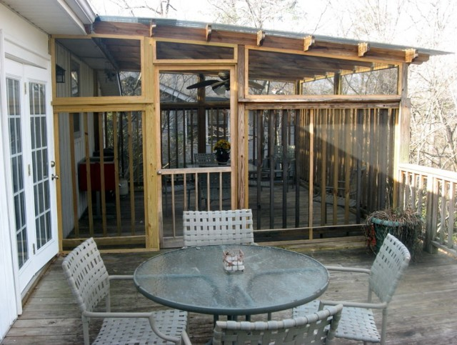 Diy Screened In Porch On Deck