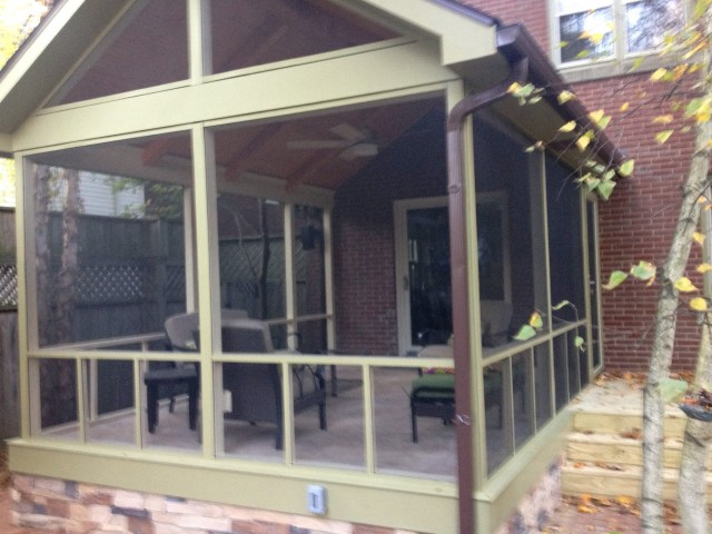 Diy Screened In Porch Plans