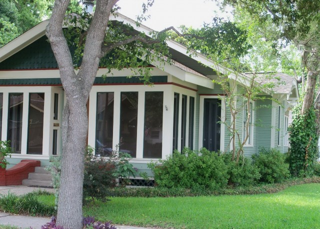 Enclosed Front Porch Bungalow
