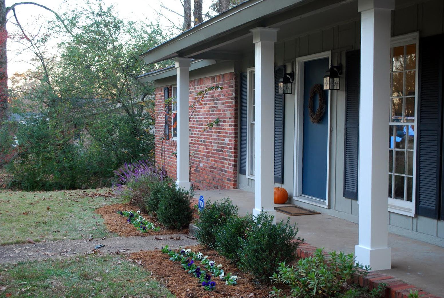 Exterior Wood Columns Porch | Home Design Ideas