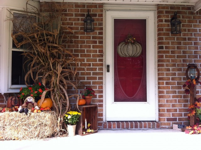 Fall Front Porch Decorations Pinterest