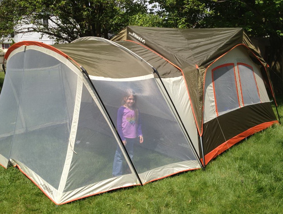 Family Camping Tents With Screen Porch
