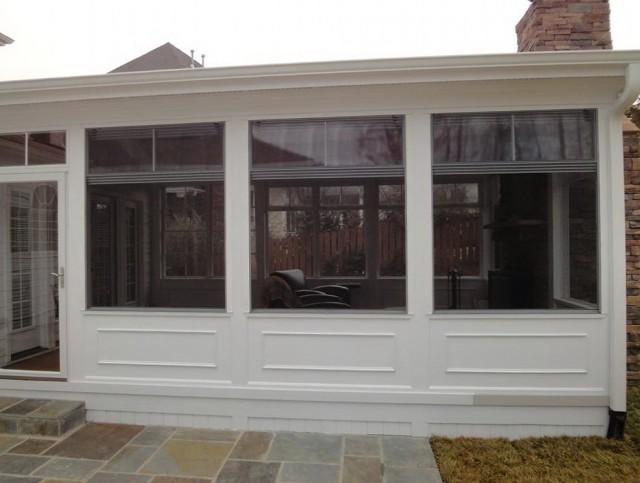 Four Season Porch Windows